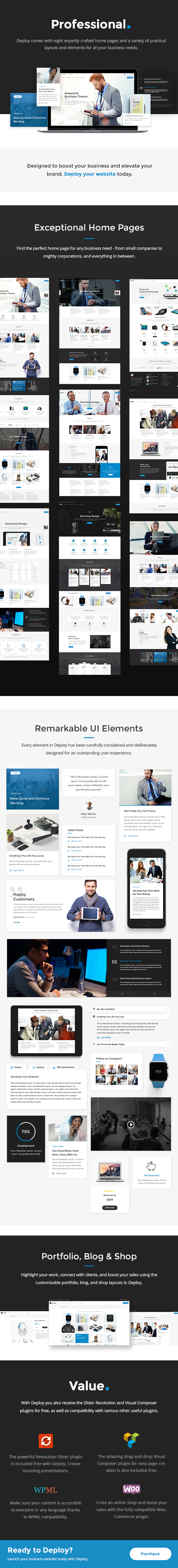 Deploy - A Clean & Modern Business Theme