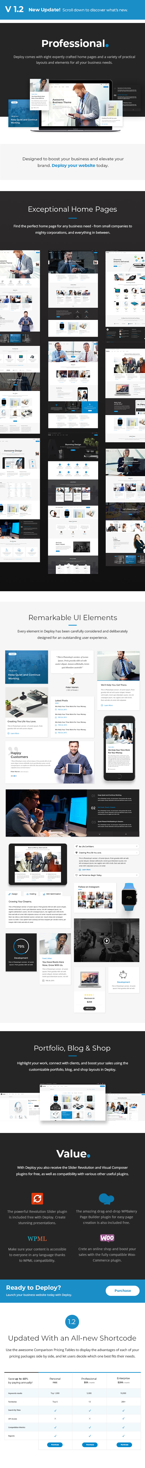 Deploy - Consulting & Business Theme - 1